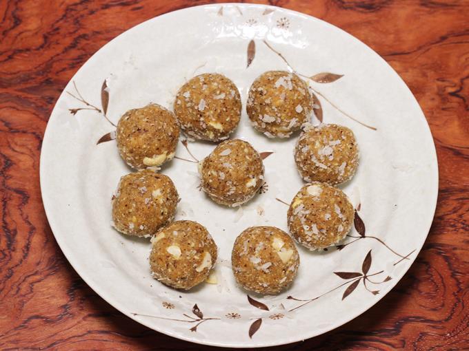 copra laddu recipe 10