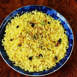 Zarda recipe | Zarda pulao | Sweet rice recipe