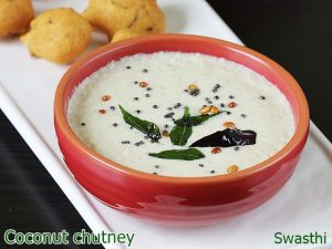 coconut chutney for idli dosa