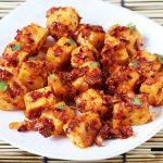 garlic paneer starter recipe