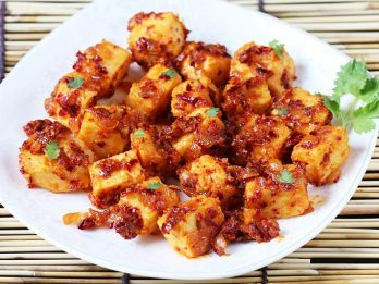 how to make chilli paneer with capsicum
