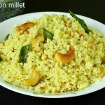 lemon millet rice recipe