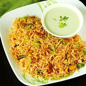 Thakkali sadam | Tamilnadu style tomato rice recipe