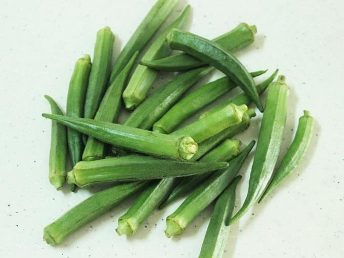 bhindi or okra for bhindi fry recipe