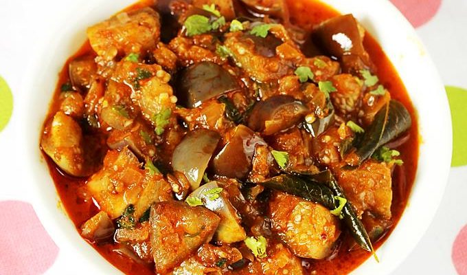 Brinjal curry recipe video | How to make brinjal curry recipe | Vankaya kura