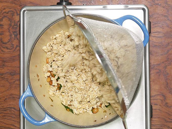 add rolled oats
