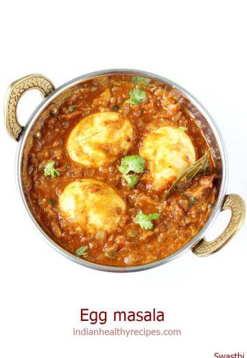 egg masala egg gravy