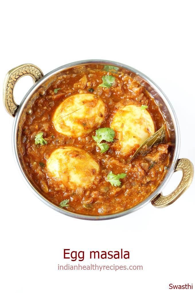 egg masala for biryani, chapathi or pulao