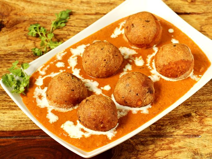 Image result for Paneer and Aloo Kofta Curry