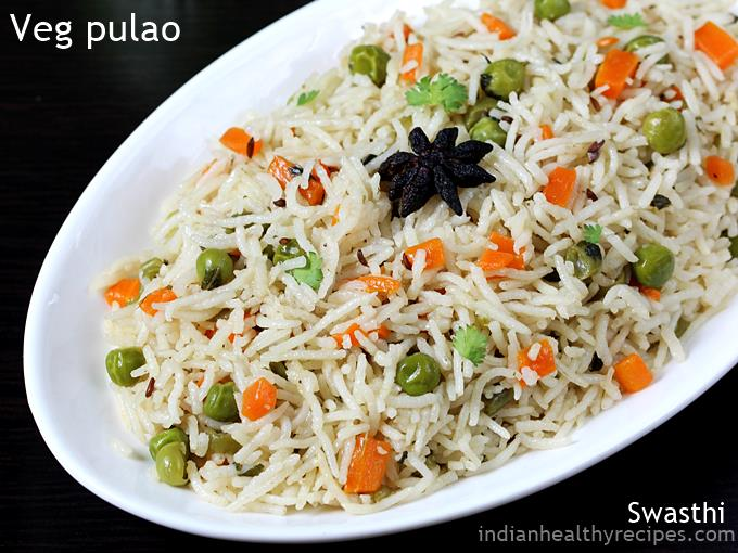 veg pulao recipe vegetable pualo pulav recipe