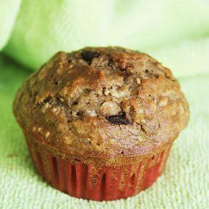 Banana oat muffins recipe | Healthy banana oat muffins