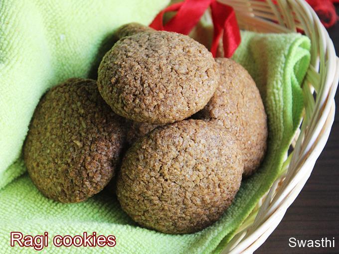 coconut ragi cookies