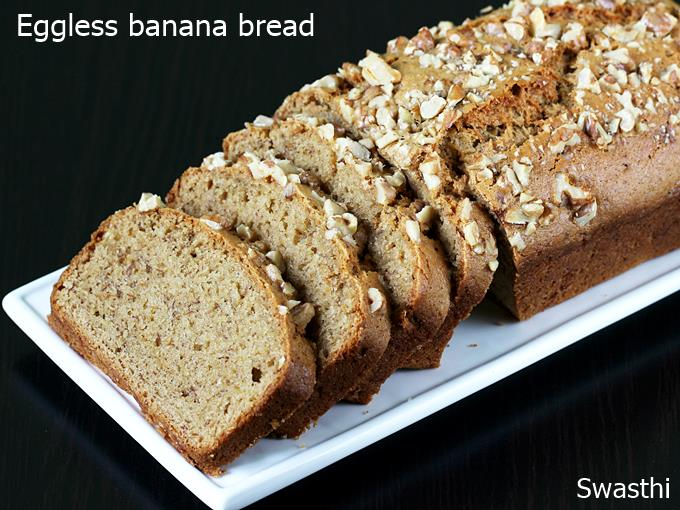Eggless banana bread recipe video how to make vegan eggless banana eggless banana bread recipe forumfinder