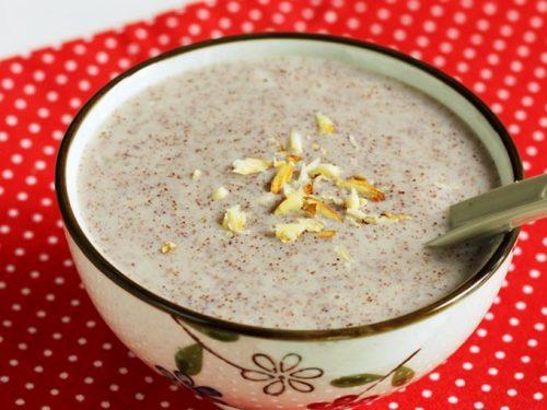 ragi malt ragi porridge