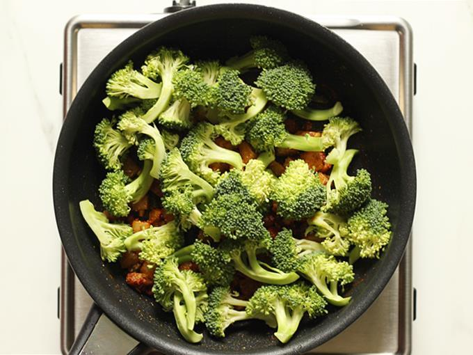 add broccoli