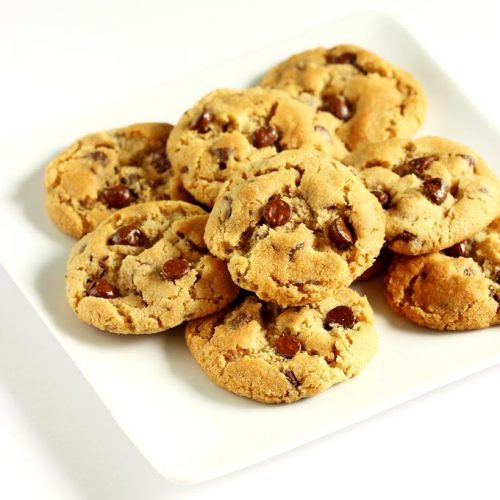 Eggless chocolate chip cookies   Wheat flour cookies   Atta cookies
