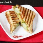 veg grilled sandwich