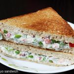 veg mayo sandwich recipe