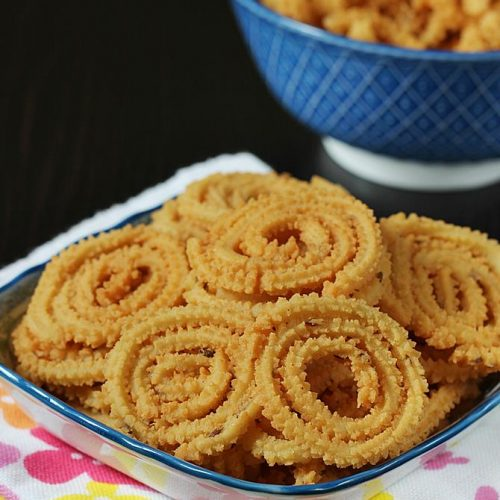 diwali snacks butter murukku