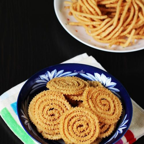 diwali snacks murukulu
