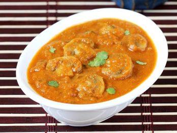 mushroom masala mushroom gravy