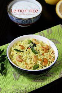 lemon rice recipe