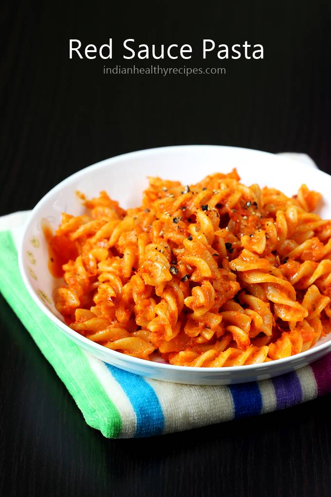 Red sauce pasta | How to make red sauce pasta