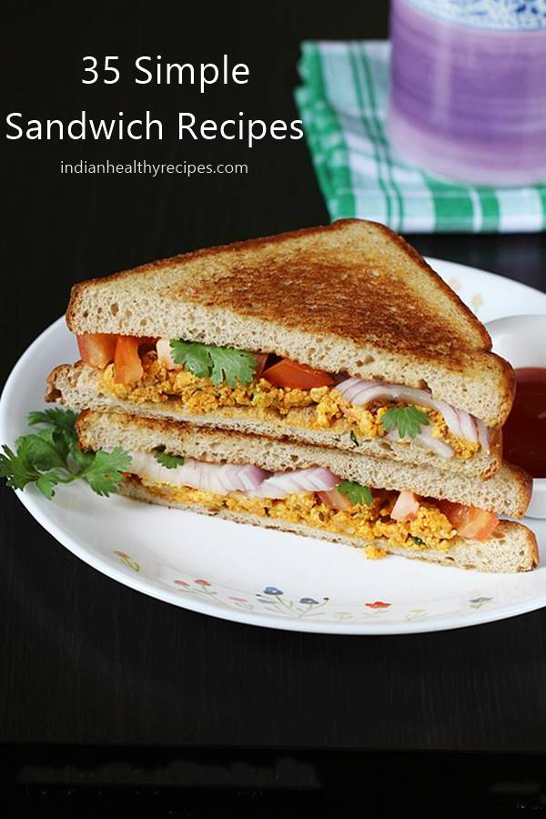 Sandwich Recipes 35 Types Of Sandwiches Swasthi S Recipes