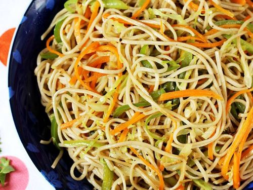 veg noodles recipe
