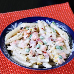 white sauce pasta recipe