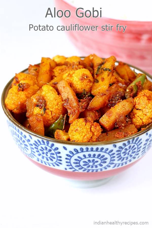 Aloo gobi dry recipe | How to make aloo gobi ki sabji ...