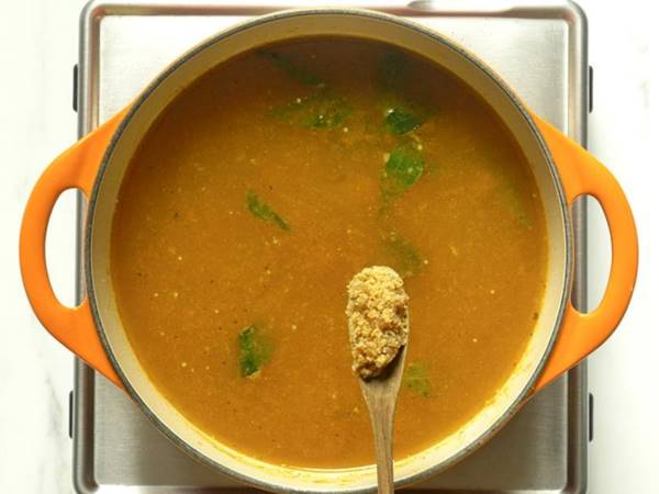 add jaggery to make rasam recipe