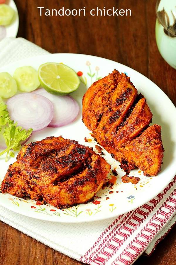 Tandoori Chicken Recipe How To Make Tandoori Chicken