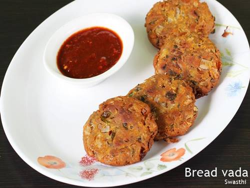 bread vada snack recipe