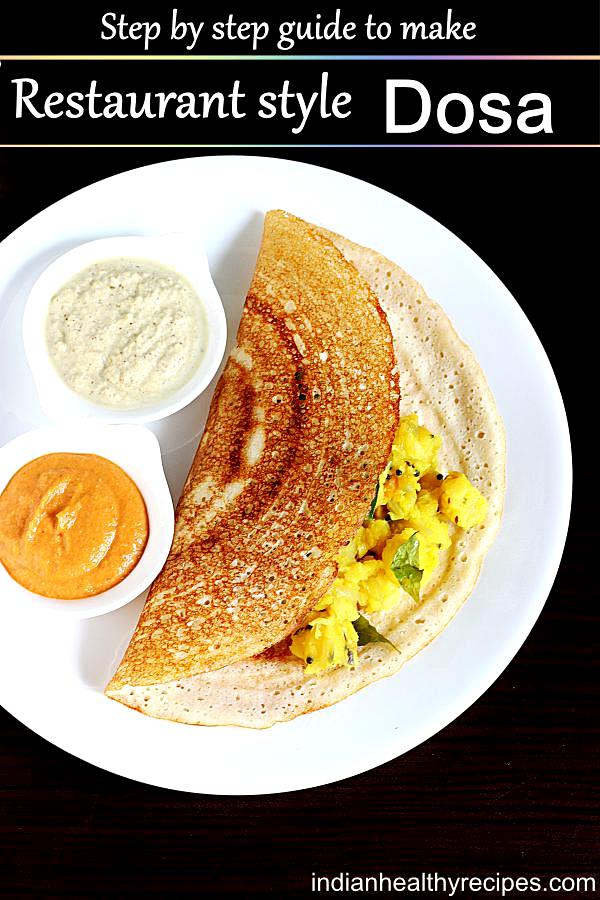 Dosa recipe | How to make dosa batter