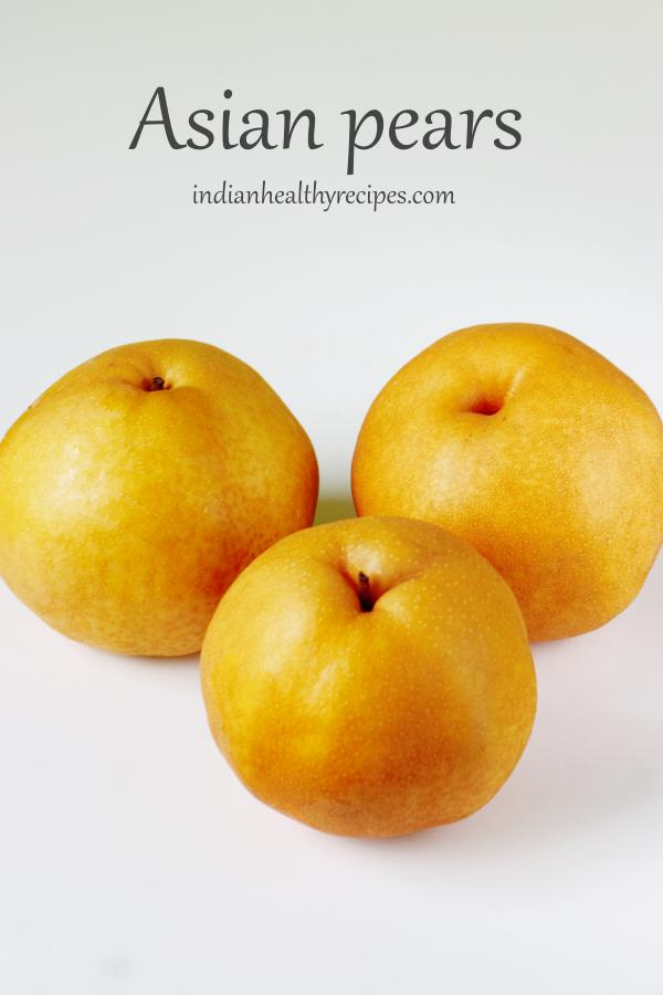 asian pears for pear juice