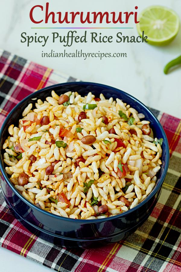 Churumuri recipe (Puffed rice snack)