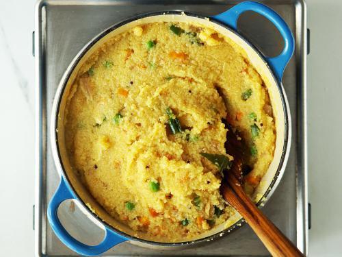 cooked khara bath
