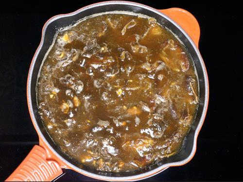 tamarind dates turn soft to make imli chutney