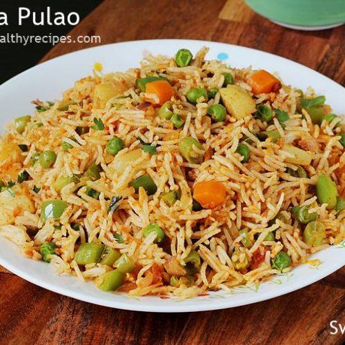 Tawa Pulao Recipe How To Make Mumbai Tawa Pulao
