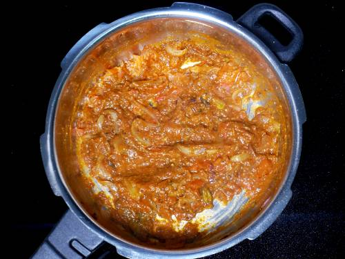 cooked masala
