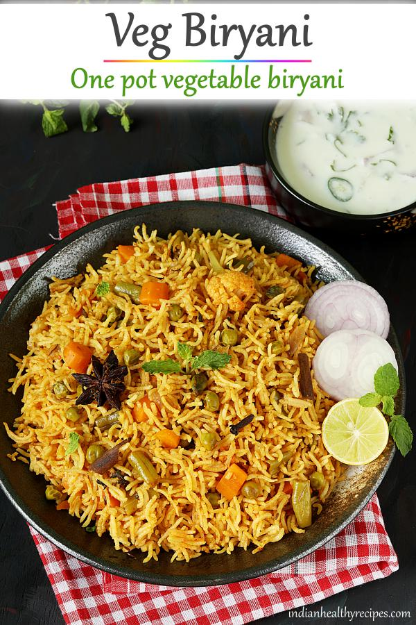 Veg biryani recipe | How to make vegetable biryani