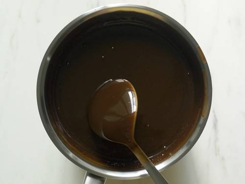 Consistency of syrup for biscuit cake