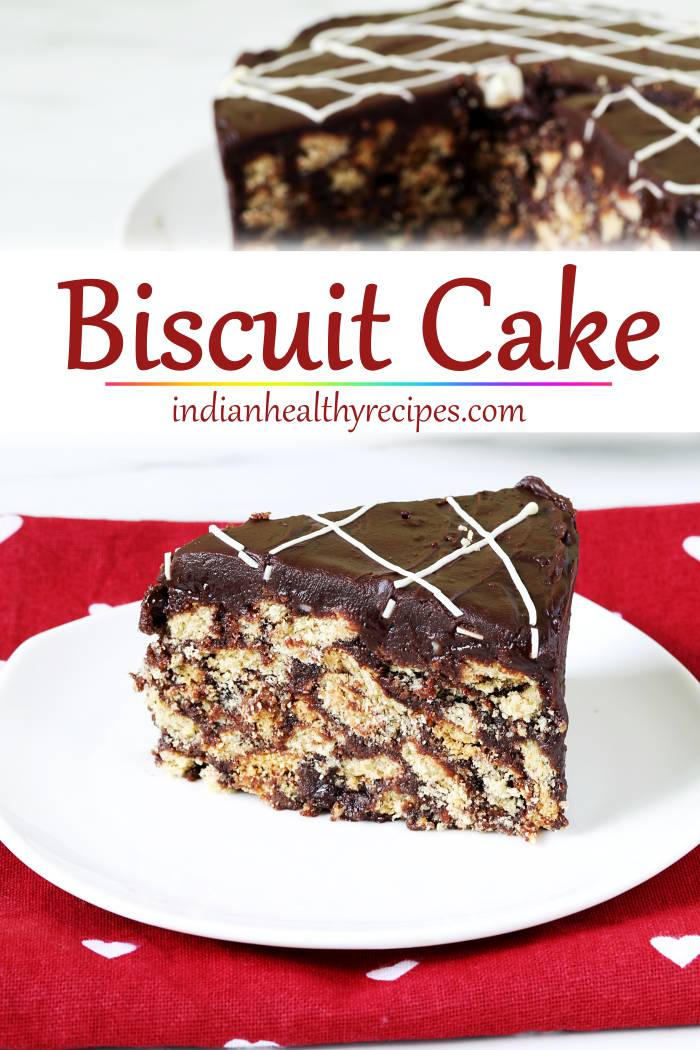 Biscuit Cake Recipe How To Make Biscuit Cake Swasthi S