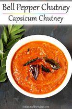 capsicum chutney
