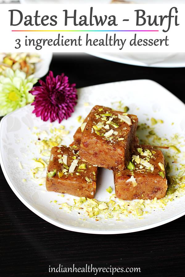 dates halwa dates burfi ramadan recipes