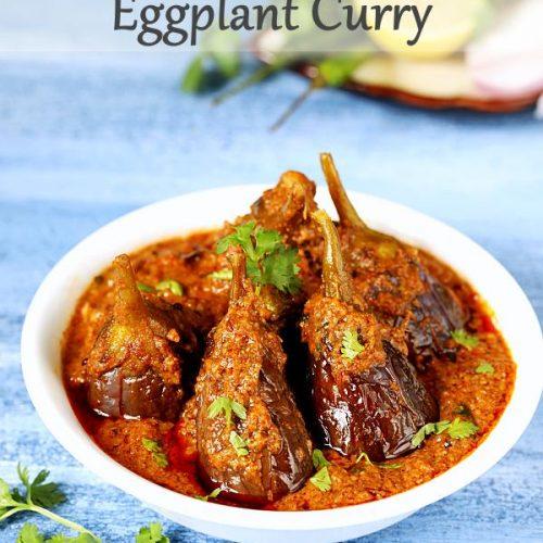 Bharwa baingan recipe   Eggplant curry