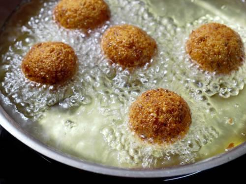 golden fried falafel