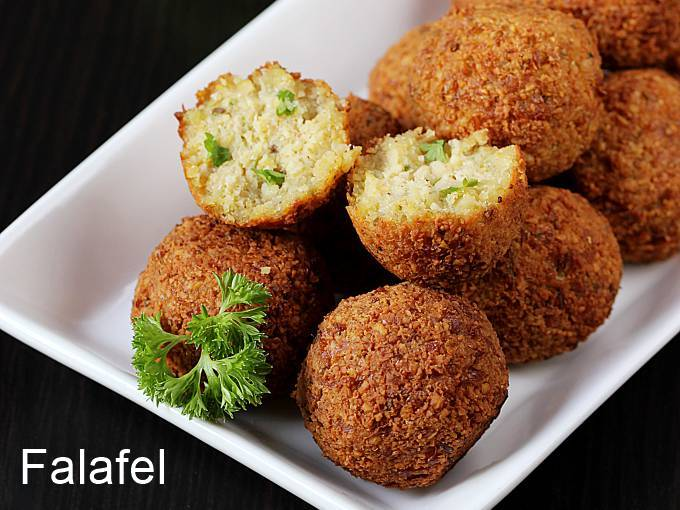 Falafel recipe | How to make falafel | Chickpea falafel recipe