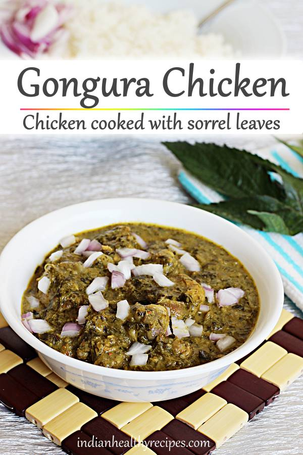 Gongura chicken recipe, How to make gongura chicken
